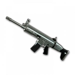 Skin d'arme: Silver Plate – SCAR-L