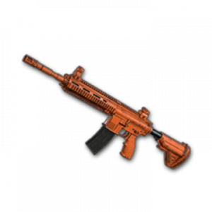 Skin d'arme: Rugged (Orange) – M416