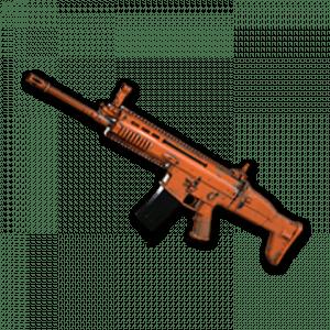 Skin d'arme: Rugged (Orange) – SCAR-L