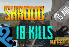 PUBG | Shroud - 18 Kills | Aug 15 | Frags