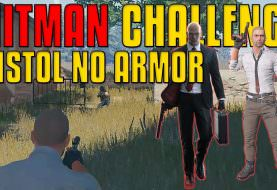 No Armor, Only PISTOL! Hitman Challenge | PUBG