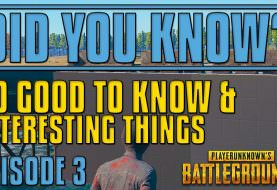 Did You Know? 20 Tips and Tricks | PUBG #3