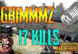 PUBG | Grimmmz - 17 Kills | Aug 14 | Frags
