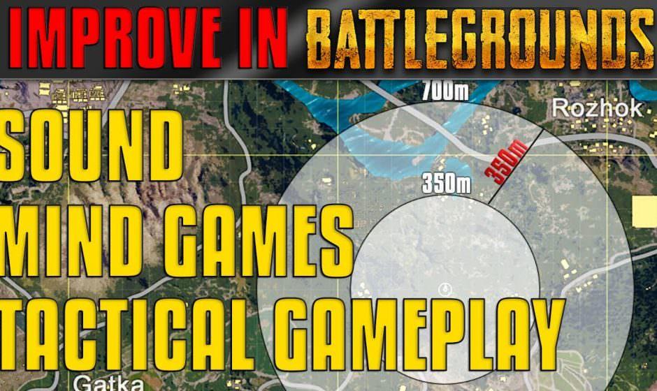 Sound, Tactical Gameplay & Mind Games | PUBG #1 [EN]