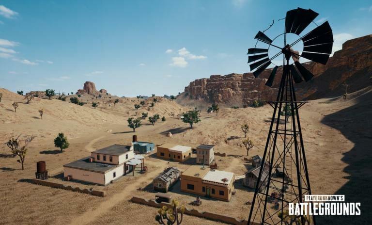 Map Miramar: La carte dans le désert