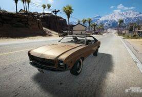 Une Mustang et une nouvelle Arme dans le prochain Patch de PUBG !
