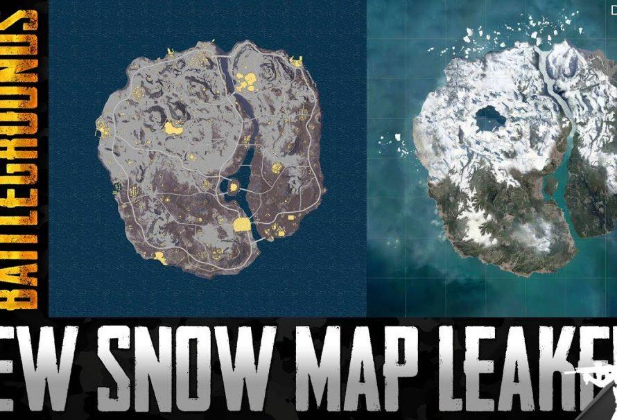 Map Vikendi: La carte dans la neige 6x6km
