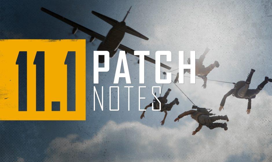 PUBG PC Patch 11.1