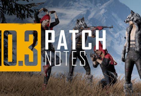 PC - Notes de mise à jour 10.3