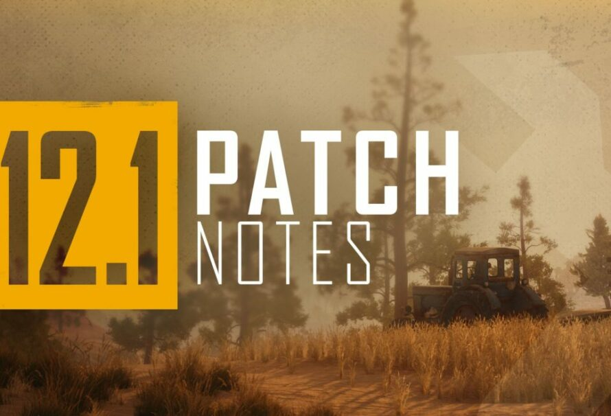 PUBG PC Update12.1: Patch Notes